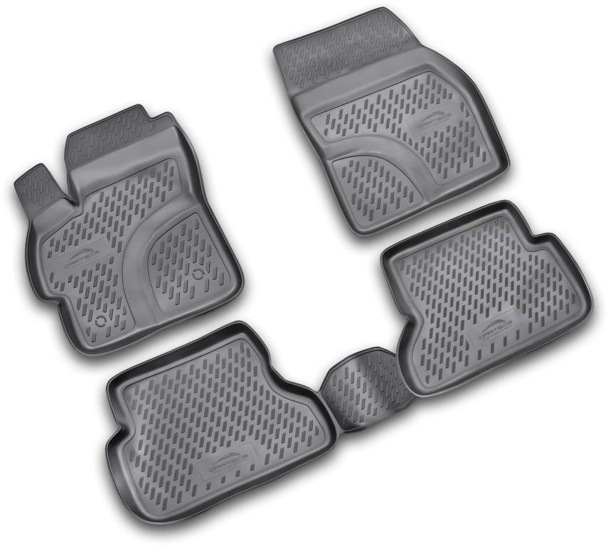 Автомобильный коврик Cartecs CARDAE10001 3D DAEWOO Gentra 2013 4шт - фото 9