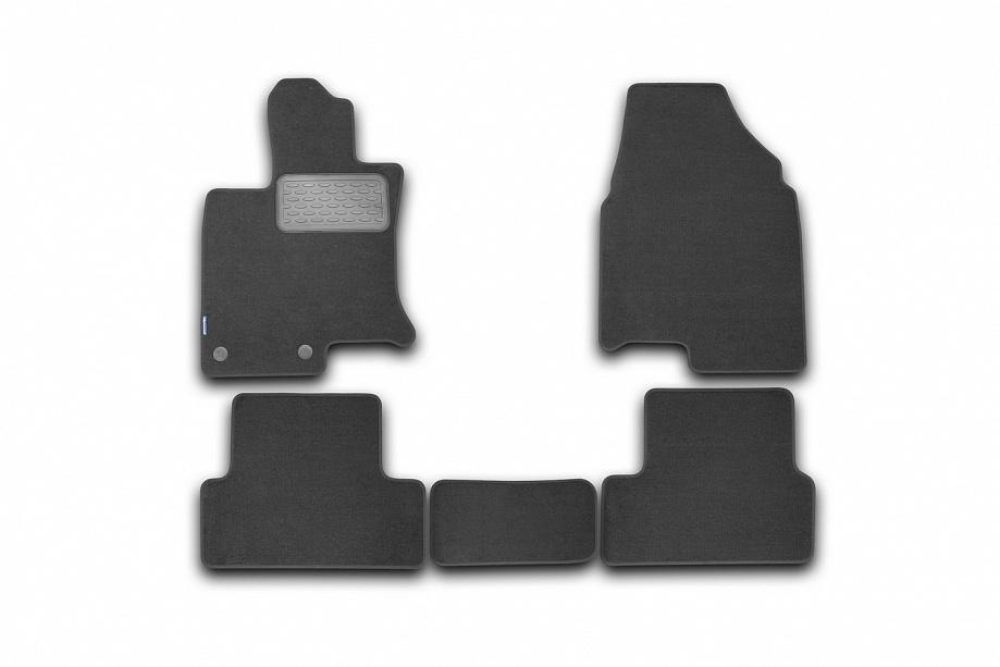 Автомобильный коврик Novline NLT.48.98.11.110kh для Toyota Hilux 2015 Black - фото 6